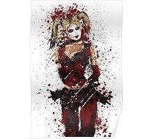 """""""Harley"""" Splatter Art Poster"""