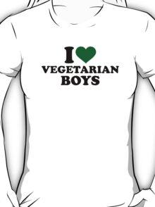 I love vegetarian boys T-Shirt