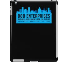 The Wire - B&B Enterprises - Blue iPad Case/Skin