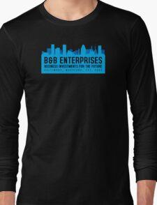 The Wire - B&B Enterprises - Blue Long Sleeve T-Shirt