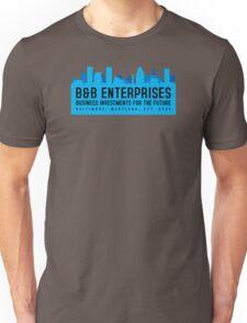 The Wire - B&B Enterprises - Blue Unisex T-Shirt
