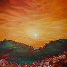 Poppy Field Sunset by Cherie Roe Dirksen