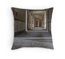 Some just vanish Throw Pillow