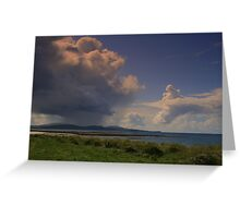 Clouds Over  Barra Greeting Card