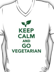 Keep calm and go vegetarian T-Shirt