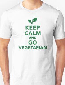 Keep calm and go vegetarian T-Shirt