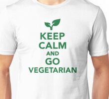 Keep calm and go vegetarian Unisex T-Shirt