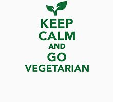 Keep calm and go vegetarian Unisex T-Shirt