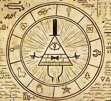 Bill Cipher by danosaurhowell-