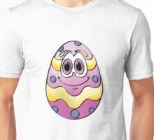 Purple Easter Egg Cartoon Unisex T-Shirt