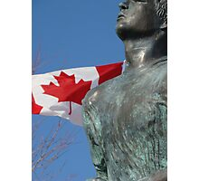 Terry Fox Photographic Print