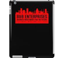 The Wire - B&B Enterprises - Red iPad Case/Skin