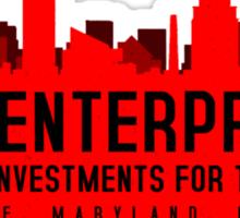 The Wire - B&B Enterprises - Red Sticker