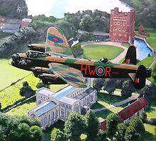 "BBMF Lancaster PA 474 ""Phantom of the Rhur"" over Tattershall Castle by philtetlow"