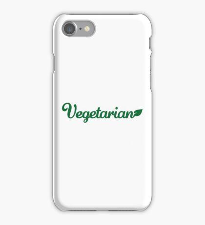 Vegetarian iPhone Case/Skin
