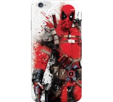 """Deadpool"" Splatter Art iPhone Case/Skin"