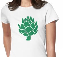 Artichoke Womens Fitted T-Shirt
