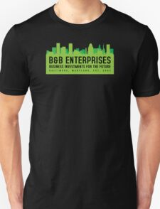 The Wire - B&B Enterprises - Green Unisex T-Shirt