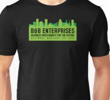 The Wire - B&B Enterprises - Green Unisex T-Shirt