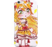 Chibi citrus lady cute girl iPhone Case/Skin