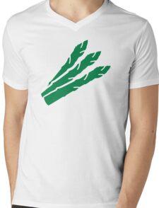 Green aspargus Mens V-Neck T-Shirt