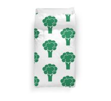 Green broccoli Duvet Cover