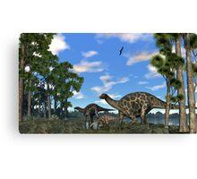 Dicraeosurus Canvas Print
