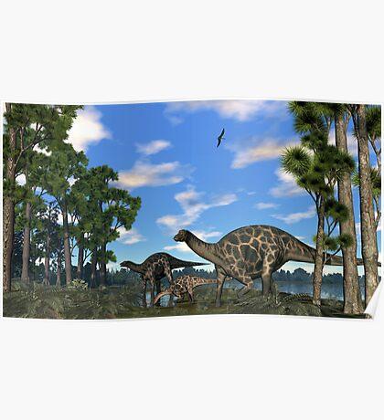 Dicraeosurus Poster