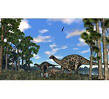 Dicraeosurus Photographic Print
