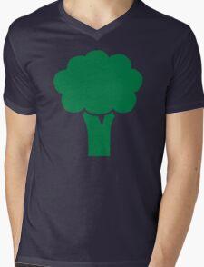 Broccoli Mens V-Neck T-Shirt
