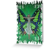 Flutterby Fairy  Greeting Card