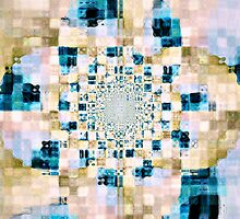 Abstract Spring Floral Pattern by Scott Mitchell