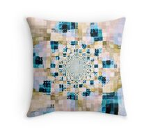 Abstract Spring Floral Pattern Throw Pillow