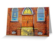 House of God Greeting Card