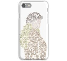 Les Miserables- On My Own iPhone Case/Skin