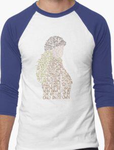 Les Miserables- On My Own Men's Baseball ¾ T-Shirt