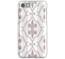 Seamless abstract pattern on brown iPhone Case/Skin