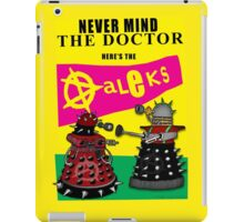 The Punk Daleks  iPad Case/Skin
