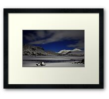 Venus and Blackmount Framed Print