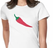 Red Chili Womens Fitted T-Shirt
