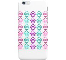 Splatoon squids pattern iPhone Case/Skin