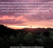 Life's experiences by Nancy Horton