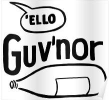 "JJ DOOM - ""Ello Guv'nor"" Poster"