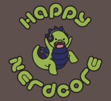 Small Happy Nerdcore logo by happynerdcore