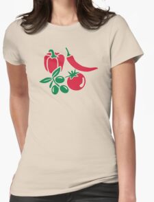 Vegetables tomato olive bell pepper chili T-Shirt