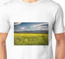 Blooming Yellow Mustard in Napa Valley Unisex T-Shirt