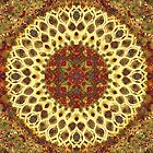 Mandala Abstract by J O'Neal