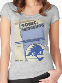 Megadrive - Sonic the Hedgehog Women's Fitted Scoop T-Shirt