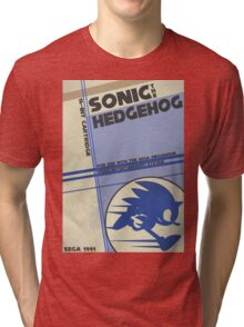 Megadrive - Sonic the Hedgehog Tri-blend T-Shirt