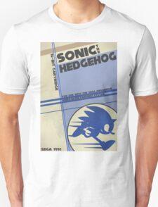 Megadrive - Sonic the Hedgehog Unisex T-Shirt